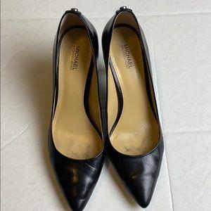 Michael Kors Black Heels 7.5 Kitten Heel